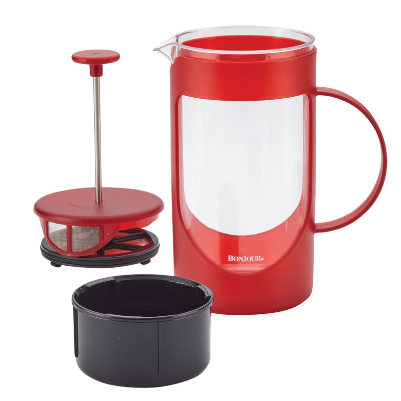 Unbreakable 40-Ounce French Press with Lock and Toss™ Filter
