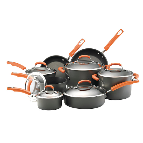 14-Piece Hard Anodized Cookware Set