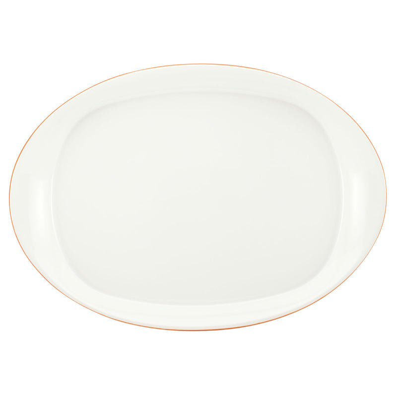 Round and Square 14-Inch Oval Serving Platter