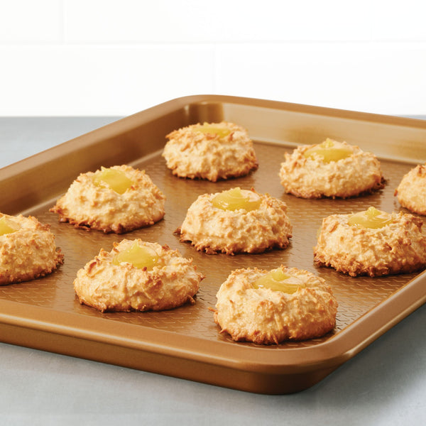 3-Piece Nonstick Baking Sheet Set