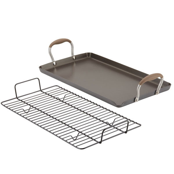 "Advanced Home 10"" x 18"" Double Burner Griddle"
