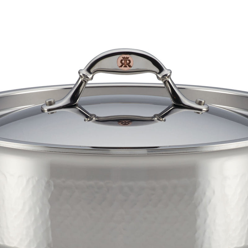 Symphonia Prima 4-Quart Chef Pan with Lid and Helper Handle
