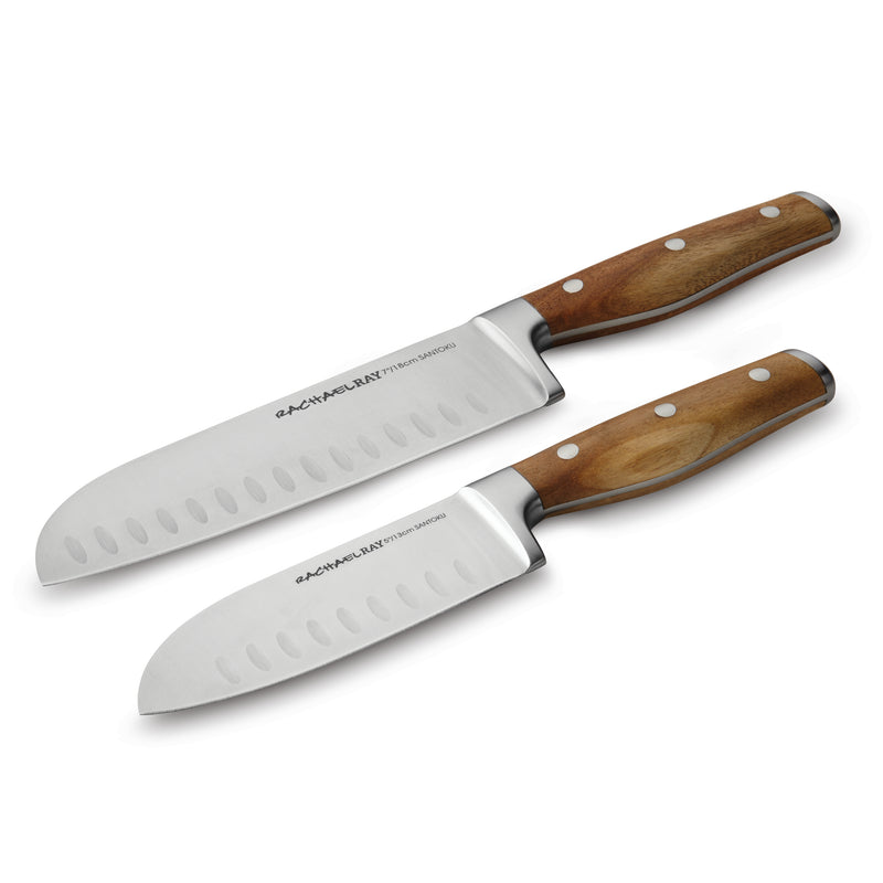 Cucina 2-Piece Santoku Knife Set