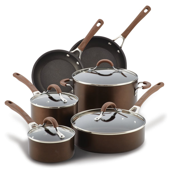 Innovatum Cocoa 10-Piece Cookware Set
