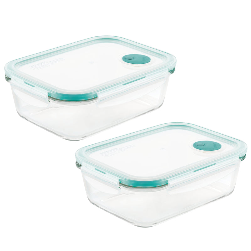 Purely Better™ Glass 2-Piece 34-Oz. VentedContainer Set
