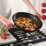 Symmetry 14-Inch Stir Fry with Helper Handle