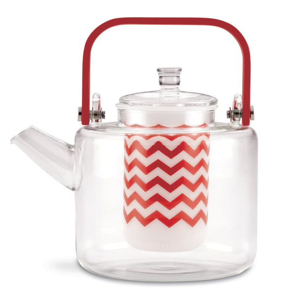 35-Ounce Reverie Glass Tea Pot