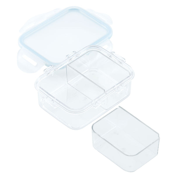 Purely Better 4-Piece 12-Ounce Food Storage Containers with Dividers