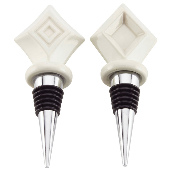 2-Piece Bottle Stopper Set