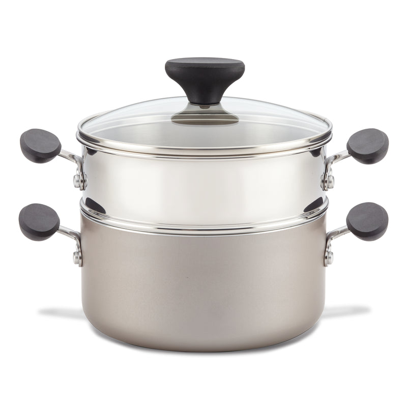 Reliance 3-Quart Nonstick Saucepot with Steamer Insert