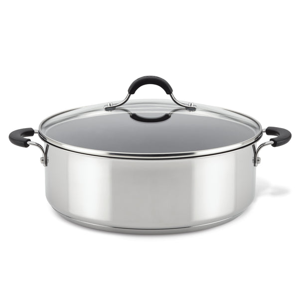 Innovatum Stainless Steel 7.5-Inch Nonstick Wide Stockpot