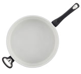 New Traditions Speckled 5-Quart Nonstick Jumbo Cooker with Helper Handle