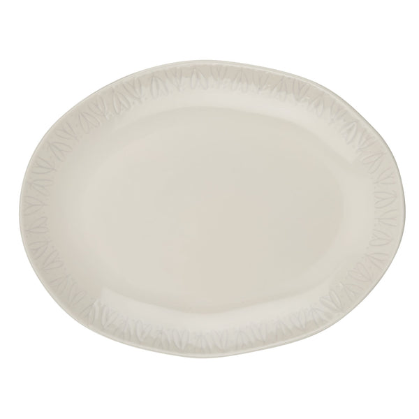 10.5-Inch x 13.5-Inch Oval Platter