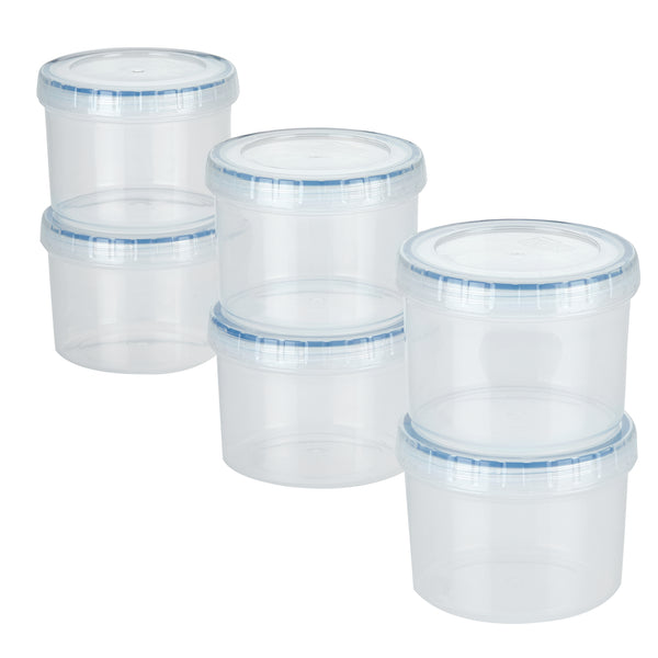 Easy Essentials 4-Piece 12-Oz. Food Storage Container Set