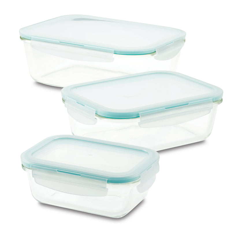 Purely Better™ Glass 6-Piece Rectangular Glass Container Set
