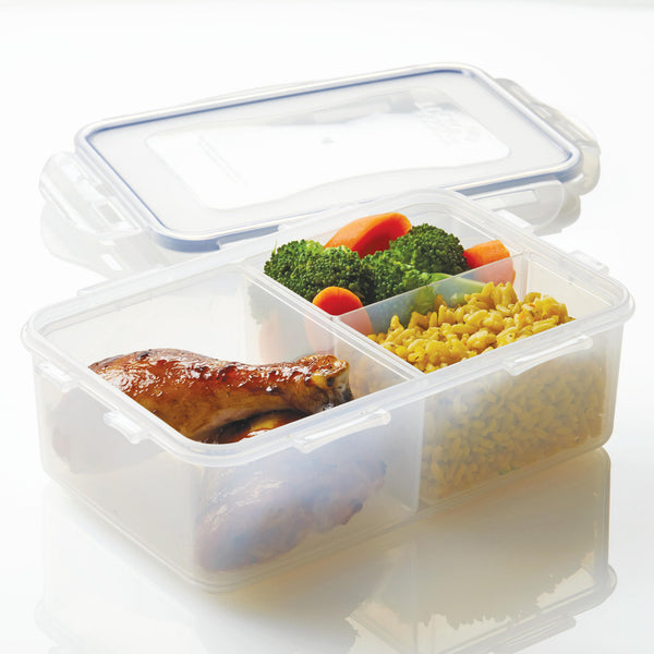 Easy Essentials 2-Piece 32-Oz. Divided Rectangular Container Set