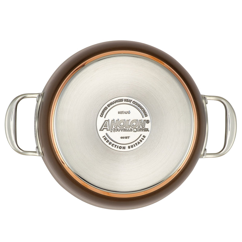 Nouvelle Copper Luxe Dutch Oven with Lid