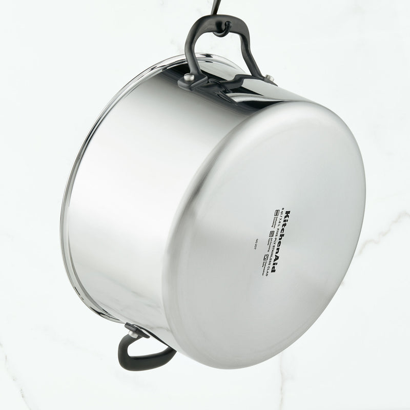 5-Ply Clad Stainless Steel 8-Quart Stockpot with Lid
