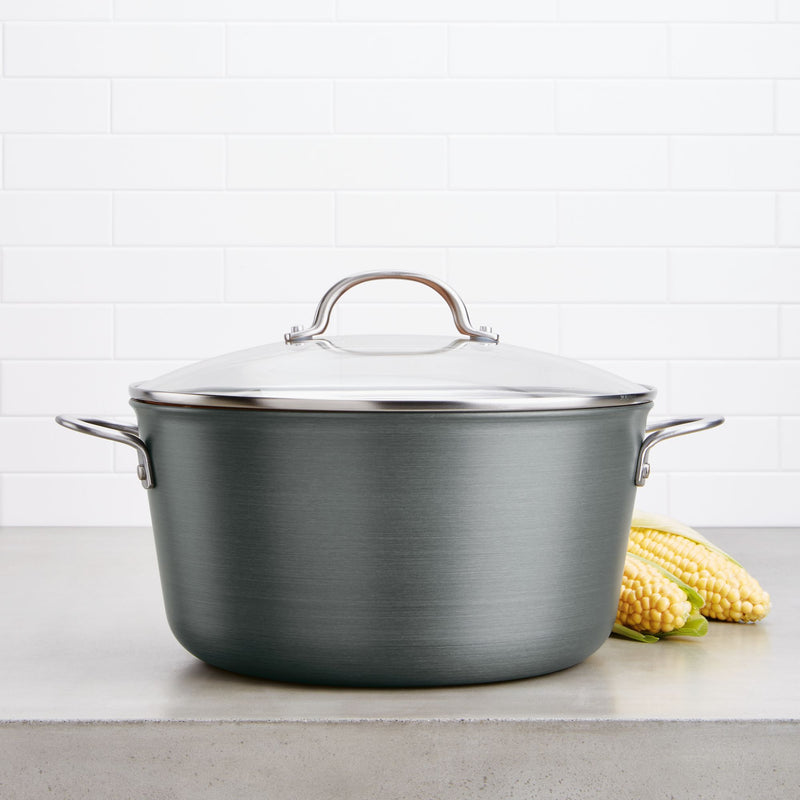 10-Quart Hard Anodized Stockpot