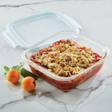 Purely Better Glass 8-inch x 8-inch Covered Baker and Food Container