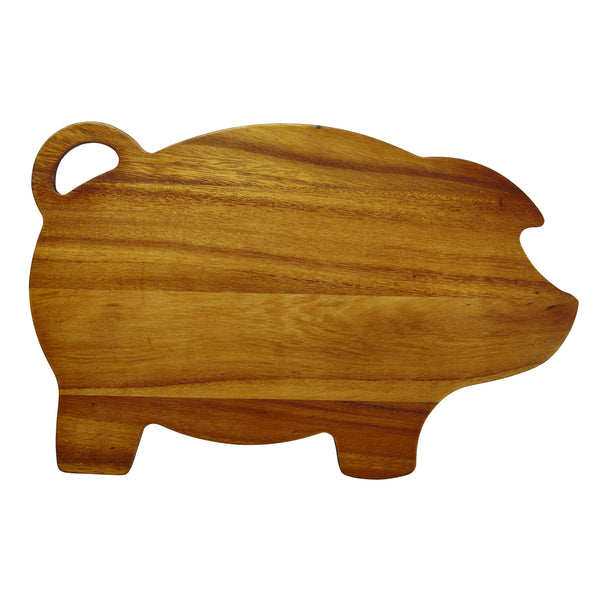"8.5"" x 14"" Pig Cutting Board"