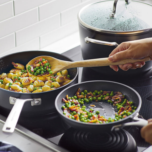 Hard-Anodized Induction 11-Piece Nonstick Cookware Set