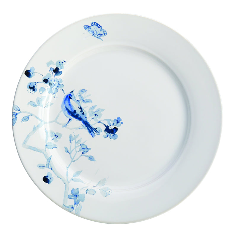 Indigo Blossom 16-Piece Dinnerware Set