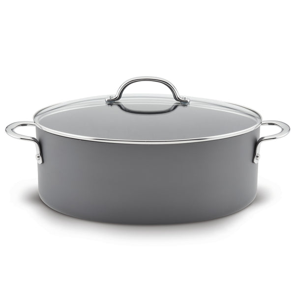 8-Quart Covered Oval Stockpot