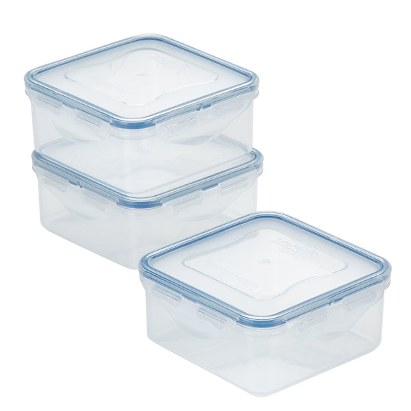 Easy Essentials 3-Piece 20-Oz. Square Container Set