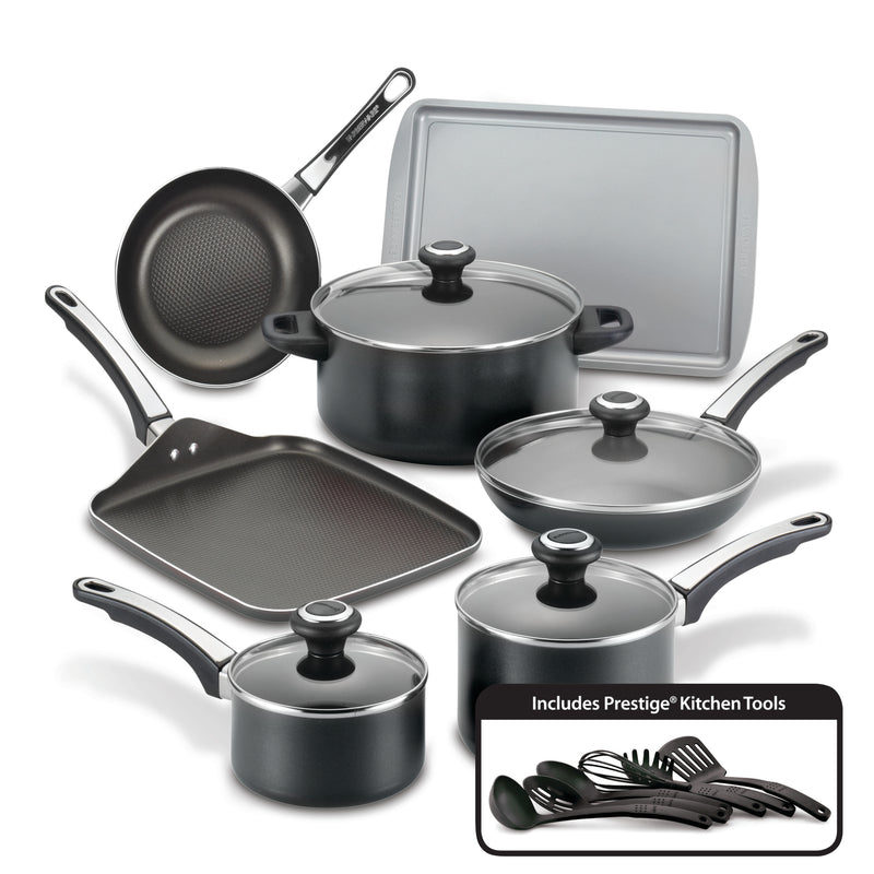 High Performance Nonstick 17-Piece Cookware Set