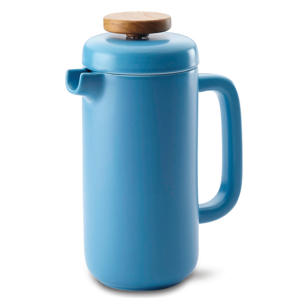8-Demitasse-Cup Ceramic French Press