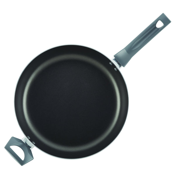 Easy Clean Pro Marble 12-Inch Nonstick Deep Frying Pan