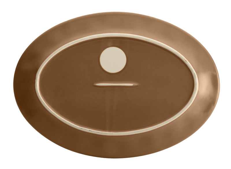 "Cucina 10"" x 14"" Oval Serving Platter"
