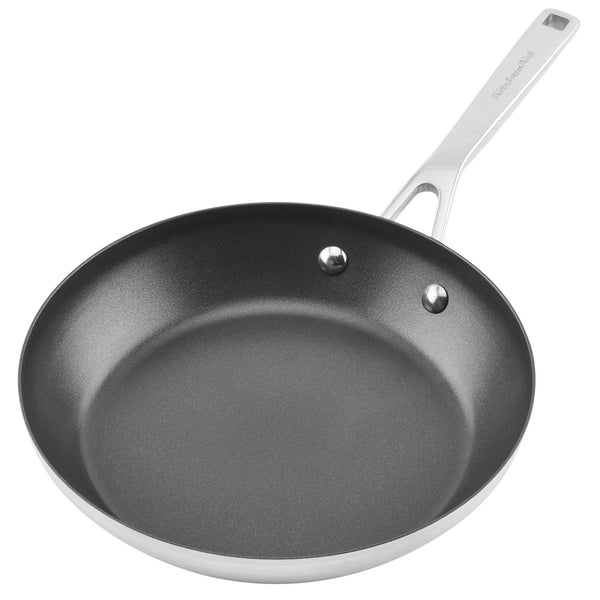 3-Ply Base Stainless Steel Nonstick Frying Pan