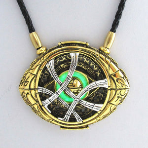 Cosplay Doctor Strange Necklaces Christmas gift Alloy Necklaces Agamotto