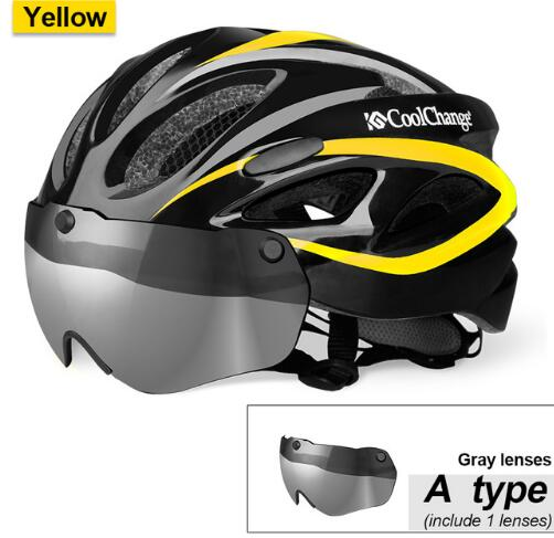 CoolChange Bicycle Helmet EPS Insect Net Road MTB Bike wind resistant