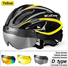 Load image into Gallery viewer, CoolChange Bicycle Helmet EPS Insect Net Road MTB Bike wind resistant