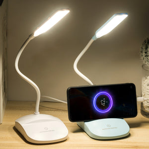 LED desk lamp eye secure student dormitory recharger design inventive gift support a generation of cross-border learning desk lamp