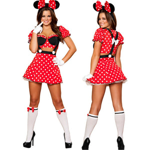 Minnie Mouse Cosplay Dress