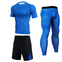 Load image into Gallery viewer, Men Compression HOT Jogging suit