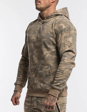 Load image into Gallery viewer, Mens Sports Suits Male Set Jogging Clothing Ropa De Marca Chandal Casual Hoodie Set Camouflage Big Pocket Cotton Tracksuit