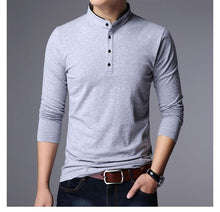 Load image into Gallery viewer, Hot Polo Shirt Long Sleeve Slim Fit