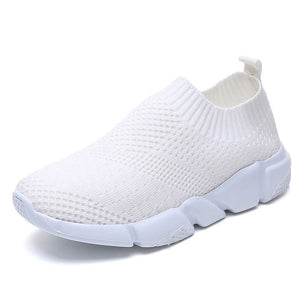 Women Shoes 2019 New Flyknit Sneakers Slip On