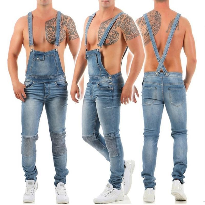 Denim Overalls Sling Jumpsuit 3 Colours