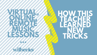Virtual, Online, Remote Music Lessons…How This Teacher Learned New Tricks