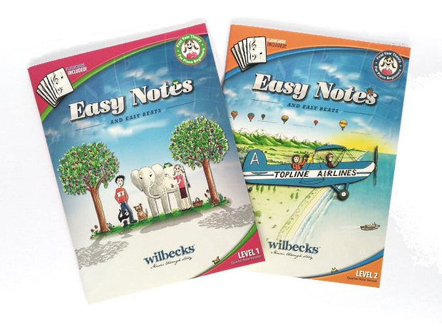 Easy Notes theory books levels 1 and 2