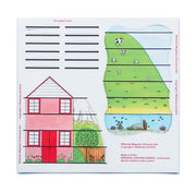 House and Farm Magnets for use on the Stave