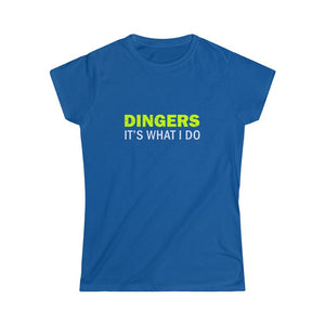 Dingers Tee Youth - softballandtacos