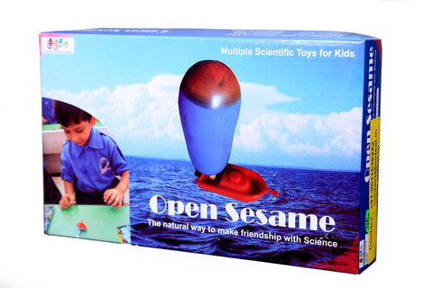 Open Sesame: Kaleidoscope, Magnetic Top, Newton Disk, Educational Toys Science Activity Kit