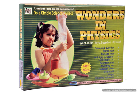 Wonder in Physics Educational Toys, Science Activity Kit, Do It Yourself DIY School Project